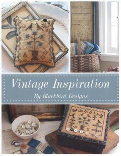 Vintage Inspiration by Blackbird Designs cross stitch pattern