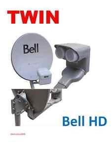 "NEW 20/"" BELL HD DISH 500 SATELLITE QUAD DPP LNB SWITCH  NETWORK DP HDTV 82 91"