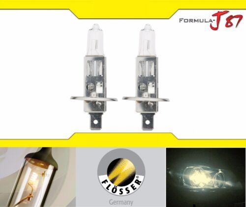 Flosser Megaplus 50/% H1 55W Two Bulbs Head Light High Beam Replacement Upgrade