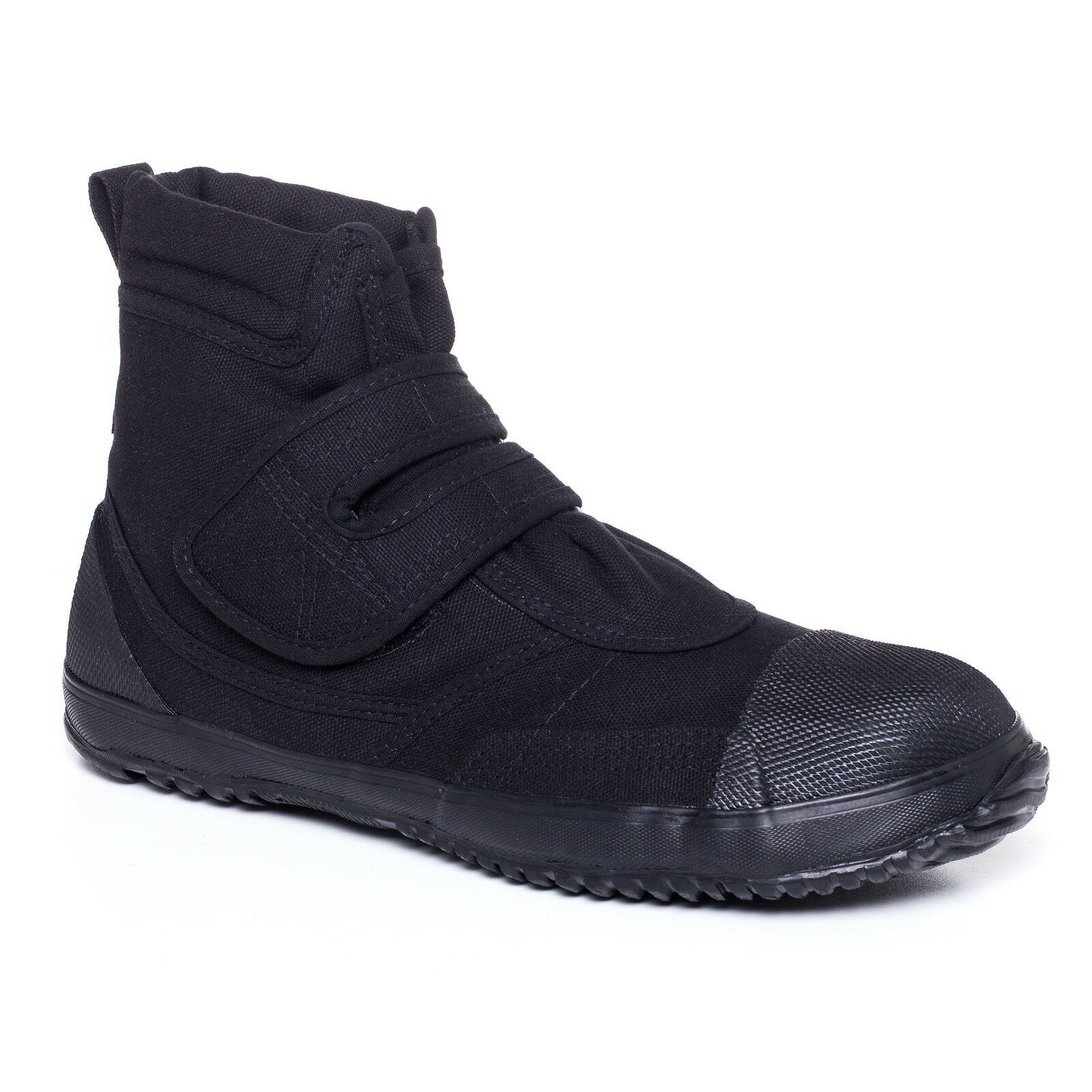 Black Black Black Fugu Sa-Ba Unisex Japanese shoes & Boots. Perfect Burning Man shoes e6c373