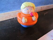 Playskool People Weebles part school  preschool park home boy orange sweater