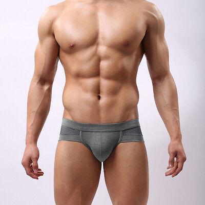 Trunks Sexy Underwear Men's Boxer Briefs Shorts Bulge Pouch soft Underpants Cute