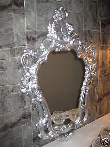 Exclusive Wall Mirror Baroque Mirror Oval Mirror in Gold 50x76 Wall Deco Antique