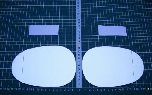 Exterior cristal espejo sustituto de vidrio suzuki vitara x90 a partir de 1996-1997 ASPH