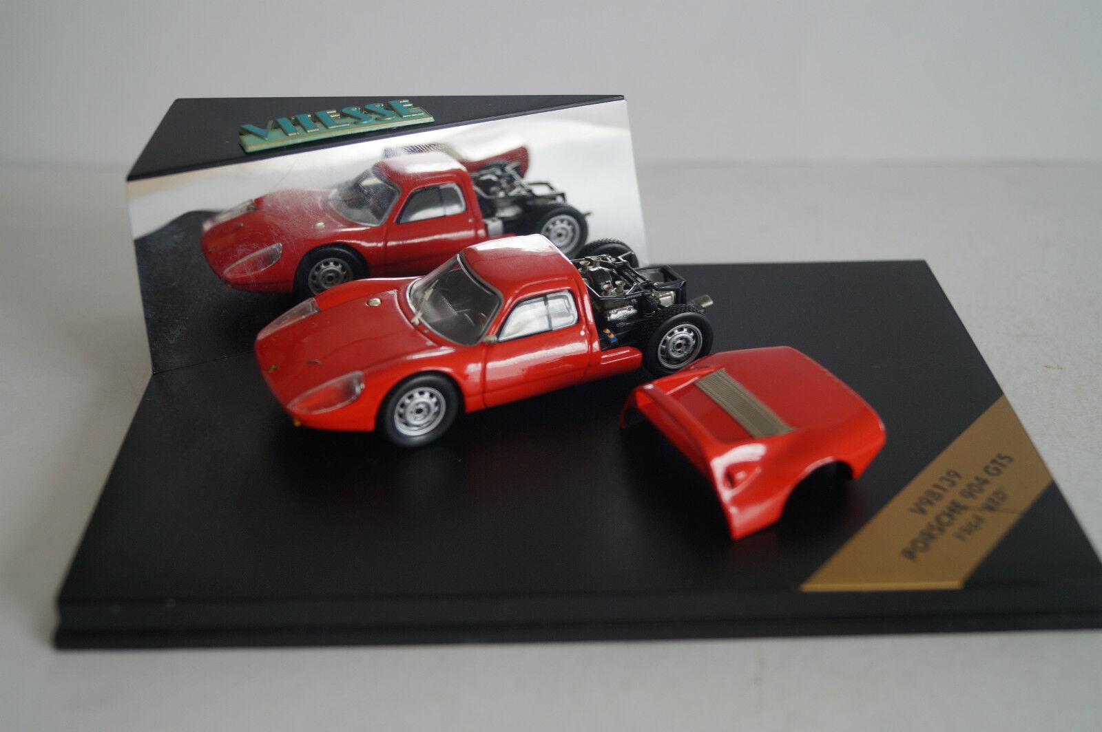 Vitesse voiture miniature 1 43 porsche 904 GTS v98139