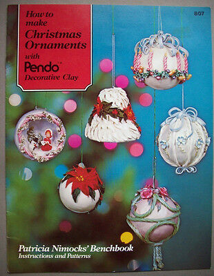 Make Christmas Ornaments From Clay Instructions And Patterns Ebay