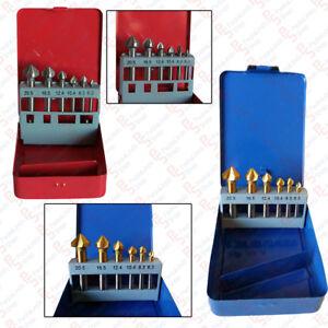 pdr kit 6 fraises chanfreiner pour tour perceuse colonne. Black Bedroom Furniture Sets. Home Design Ideas