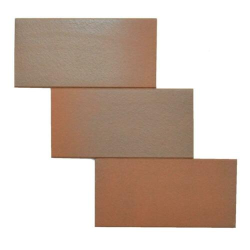 Remplacement carreau sol brèche plaque Ammo e1978 1100 355 Rouge Marron Mix Mat 11,5 x 24