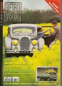RETROVISEUR-154-TALBOT-LAGO-T26-RECORD-MASERATI-A6-1500-49-MGB-FIAT-124-SPIDER