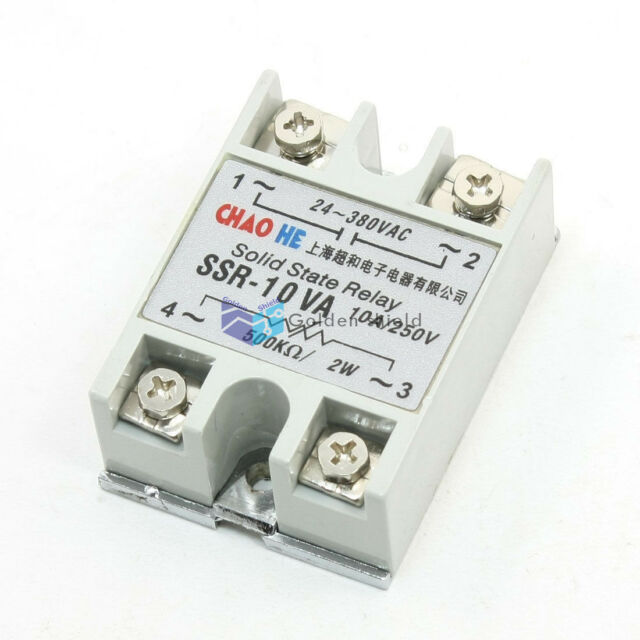 SSR-25VA Solid State Relay 25A control potentiometer Input 24-380VAC Output