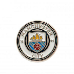 Manchester City F.C - Metal Badge - GIFT