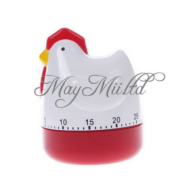 Good Mini Chicken Home Kitchen 60 Minutes Cooking Mechanical Timer Alarm Bell I