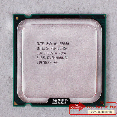 2M// 800 SLGTG CPU ONLY Intel Pentium E5800-3.2 GHz Dual-Core  3.2 GHZ