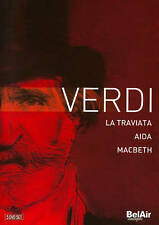 Verdi: La Traviata; Aida; Macbeth, New DVDs
