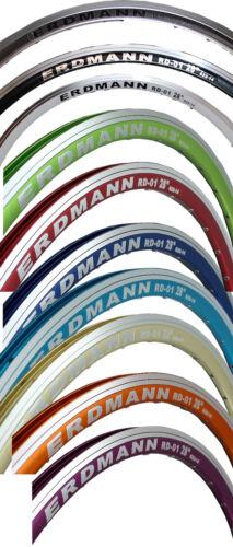 "32 Hole Road Rim Erdmann RD-01 28 /"" 622//14 in Various Colours"