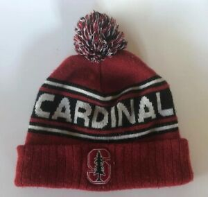 Stanford-Cardinal-NCAA-Driven-Beanie-Cuffed-Stocking-Stretch-Knit-Hat-Cap