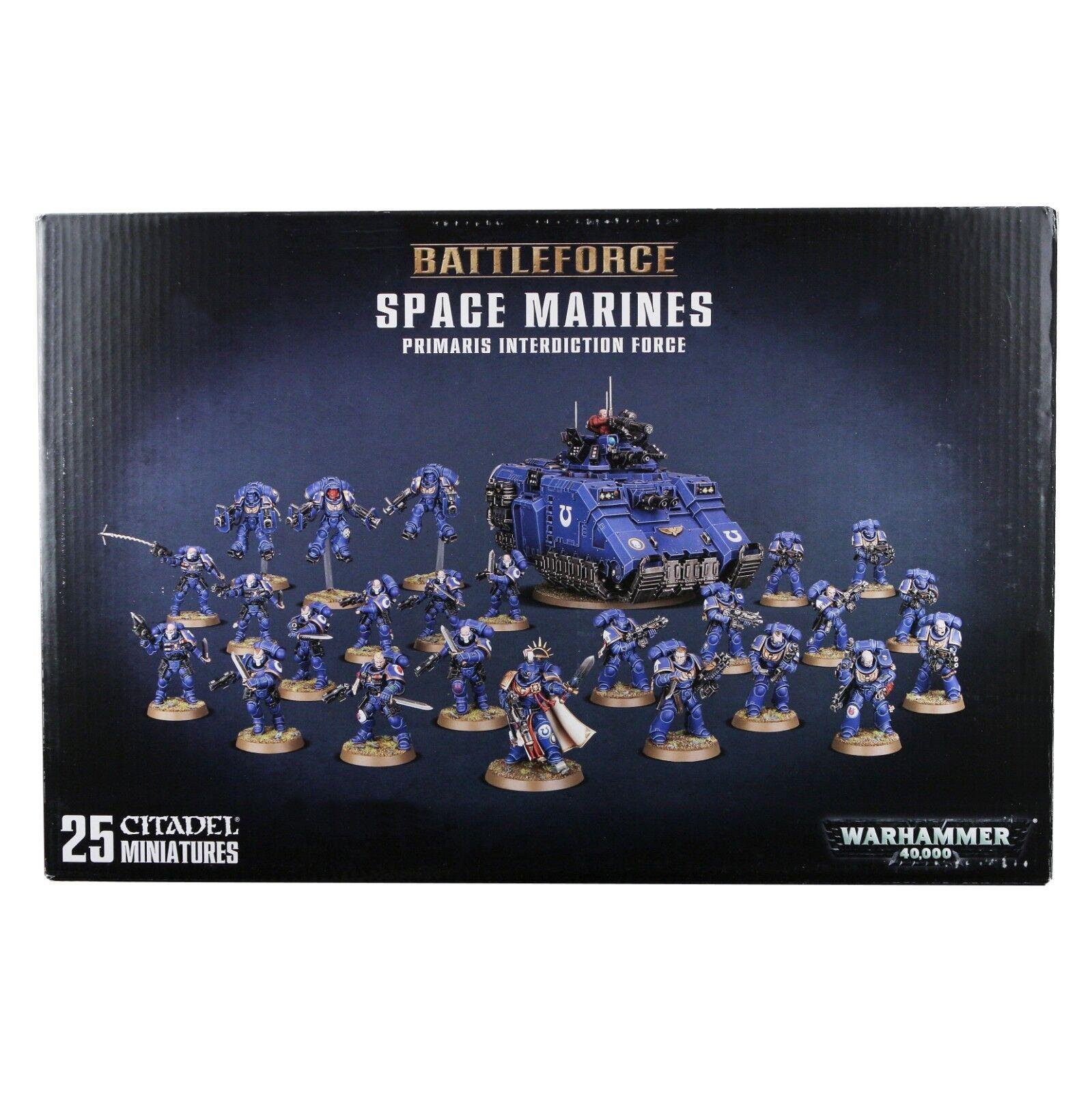 Space Marines Ultramarines Primaris Interdiction Force Warhammer 40,000 11839