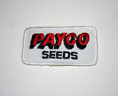Vintage Americana Seeds Agriculture Farming Cloth Jacket Patch New NOS 1980s