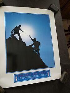 """"""" Il Y A No Limit """" Motivationnel Affiche 1984 Montage Publications Randonnée 50% De RéDuction"""
