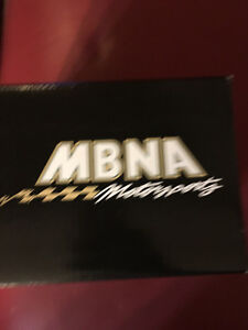 MBNA-Motorsports-Autograph-Helmet-Race-Car-Forte-Mini-Indy-Motor-Speedway-Blank