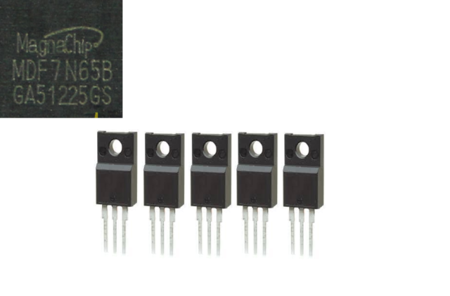 TO-220-3 STMICROELECTRONICS STP6N65M2 MOSFET N CHANNEL 650V 10 pieces 4A