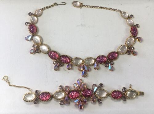 Hobe Necklace Vintage & Bracelet