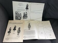 1876-1885 by  Francois La Poupee Modele Vol 2 112 Authentic Vintage Patterns