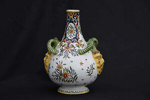 Vase DESVRES- signé Henri Delcourt- 1917-1935 - vase DESVRES- signed Henri Delco i4mdECRI-09100358-502044291