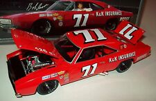 Bobby Isaac 1969 K&K Insurance #71 Dodge Charger 500 1/24 NASCAR Legends Hemi
