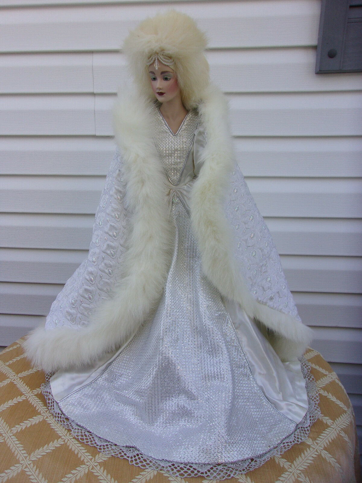 Franklin Heirloom Doll  The Snow Queen  Rare Doll