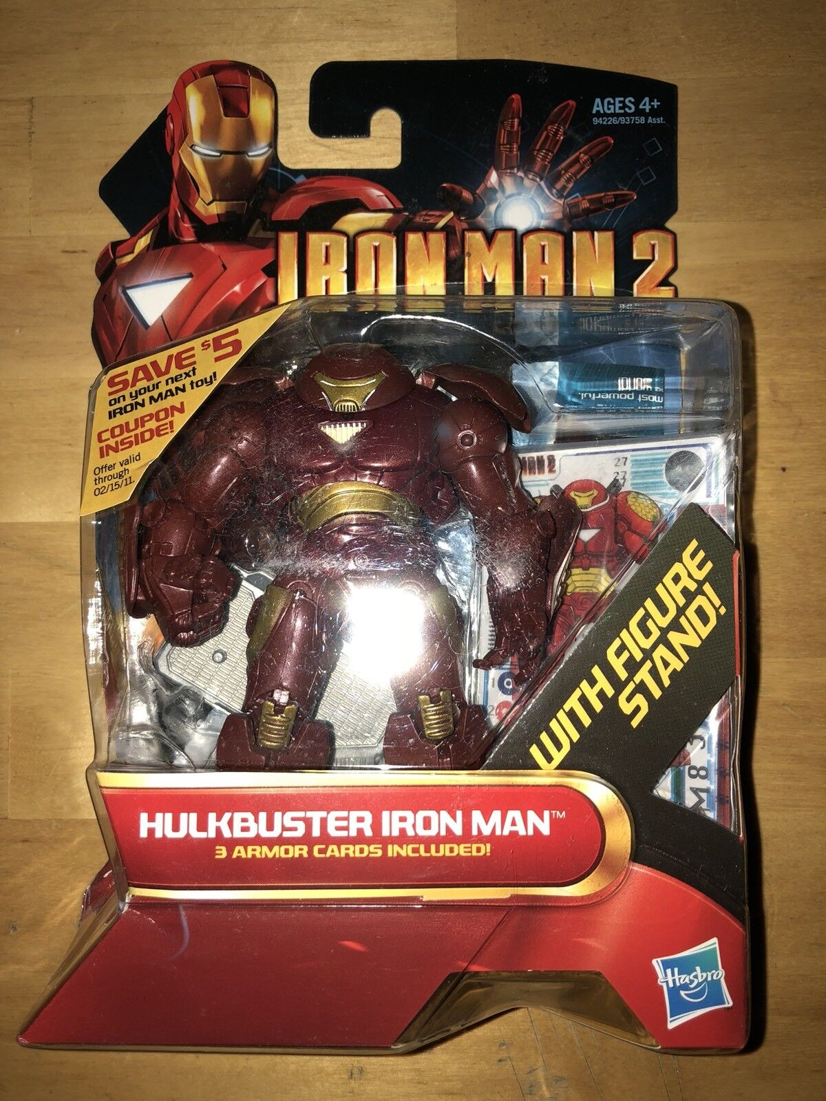 Marvel IRON MAN 2 Hulk buster Iron Man   AF IM2 9