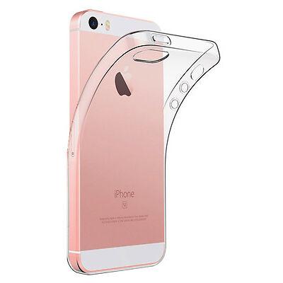 Cover Custodia Trasparente Ultra Slim Tpu Gel Per Iphone 5 / 5S / Se