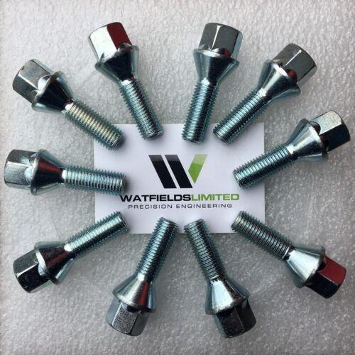 Cabeza Hexagonal 17mm 16 X M12 X 1.5 Pernos de rueda forma cónica mobiliario longitud del hilo 50mm