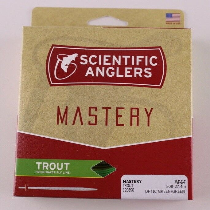 Scientific Anglers Mastery Trout Fly Line WF6F Free Expedited Shipping 120890