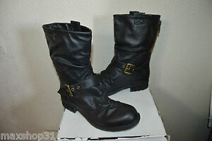 BOTTES-MILAN-TAILLE-39-CHAUSSURE-STYLE-RANGERS-US-8-5-BOOTS-BOTAS-STIVALI-NEUF