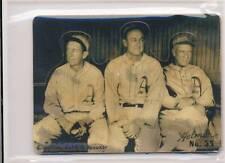 TY COBB COLLINS SPEAKER R318-Helmar Hey-Batter! #35 Modern Art Baseball Card