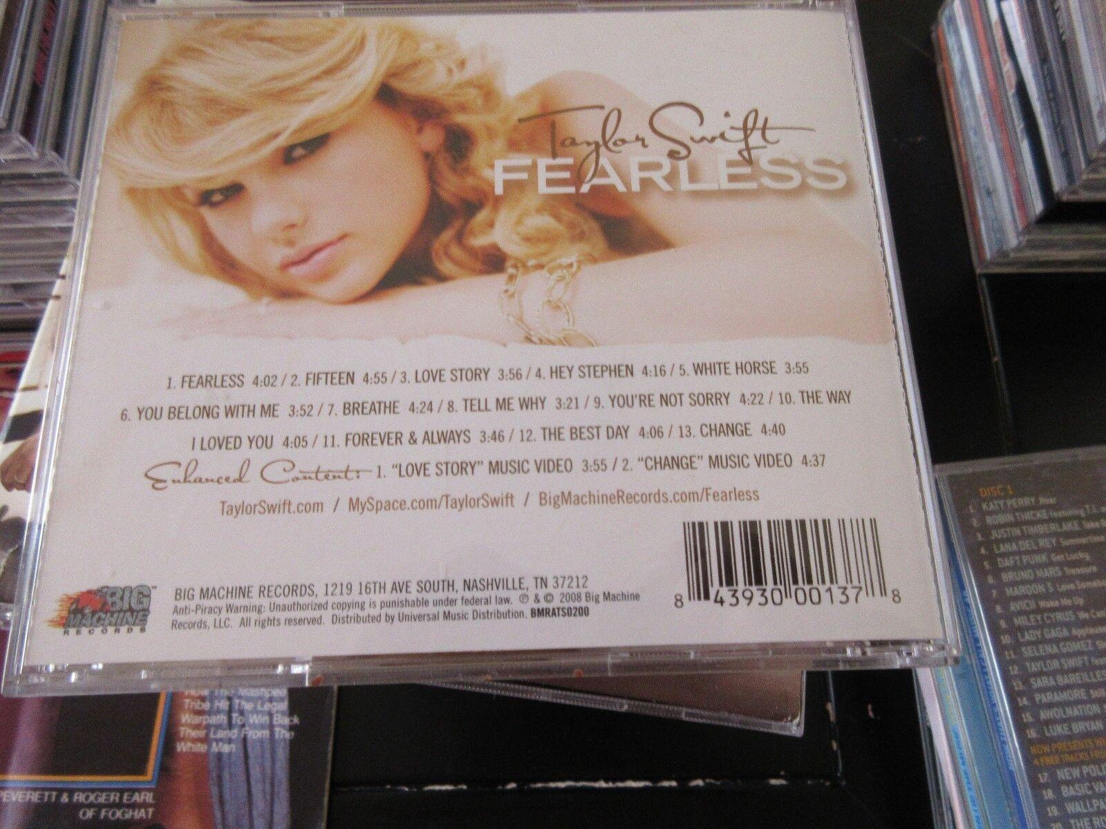 Taylor Swift , FEARLESS , CD 400037219206