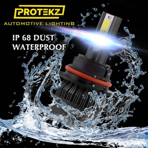LED Headlight Kit Protekz 9007 HB5 High /& Low 6000K for Nissan Sentra 1995-2003
