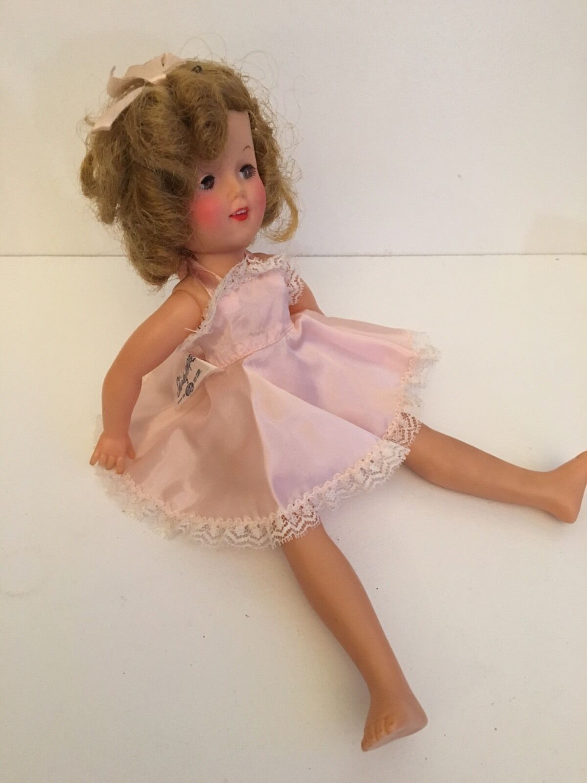 Vintage 1950s Vinyl Shirley Temple TV Doll Doll Doll With Original Clothes 12 Inch 1d747a