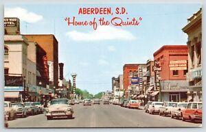 Aberdeen-South-Dakota-Main-Street-Sears-Stout-Drug-Hay-Furniture-1950s-Cars