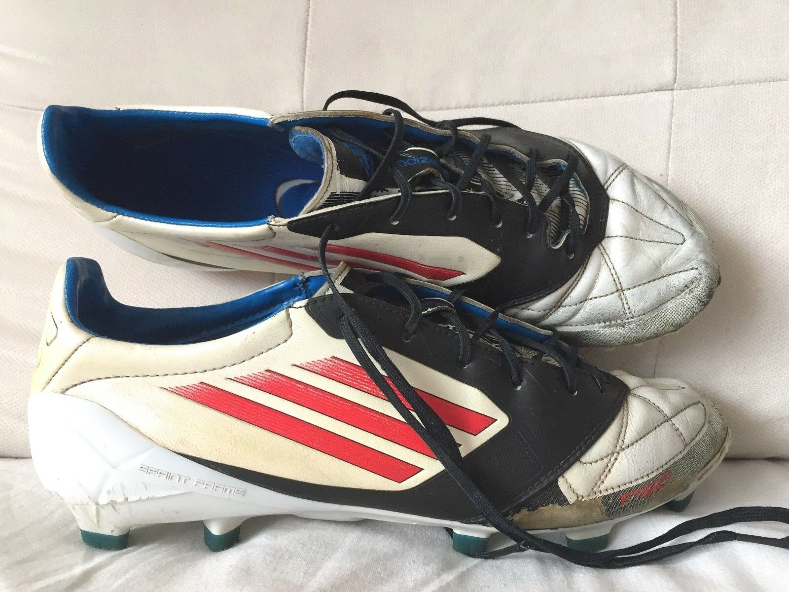 bc85ece0af2 Adidas f50 soccer cleats football boots K-Leather US10.5 Messi FG adizero  nuoxwp2312-Men