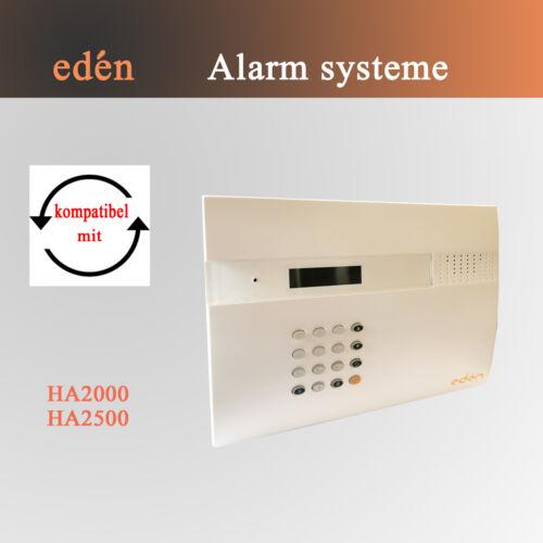 SMS Meldung per Telefon o GSM Wählgerät für Edèn Alarmanlage HA2000 Alarm