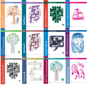 2019 Nouveau Style Compréhension Grammaire, Fraction, Mental Maths Manuel Ks1 Ks2 Âges 5-11 Ans Belle Et Charmante