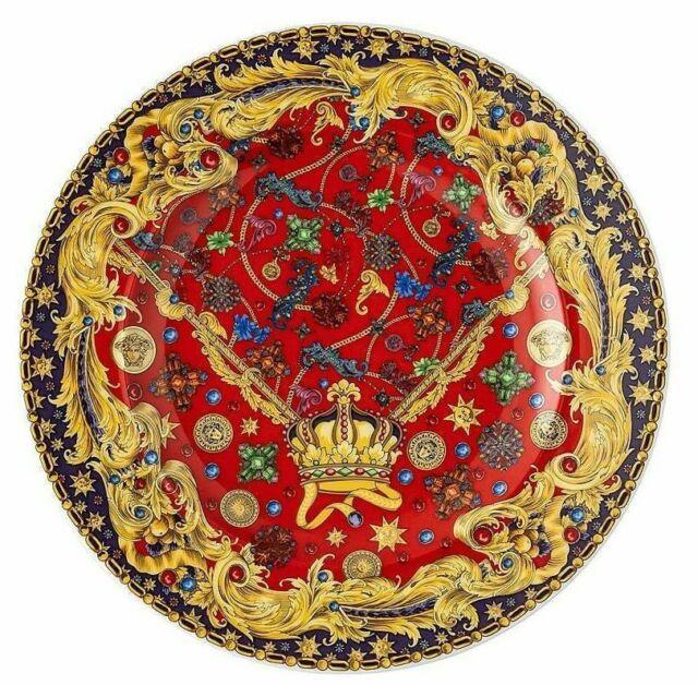 Versace Rosenthal - Dinner Plate 18 CM Baroque Holiday - Christmas