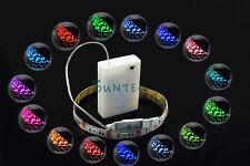 LED RGB Streifen Stripe licht 50cm mehrfarbige +MINI Controller + Batterien Box