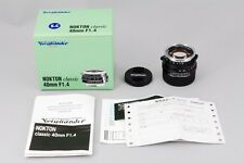 【Mint ! unused】Voigtlander NOKTON Classic 40mm F1.4 for Leica M from Japan #1153