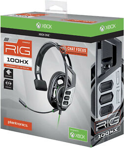 Plantronics RIG 100HX black Headband Headsets for Microsoft Xbox One