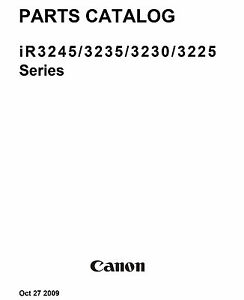 canon ir3245 ir3235 ir3230 ir3225 series service manual pdf ebay rh ebay com canon ir3235 service manual free download Canon Copiers