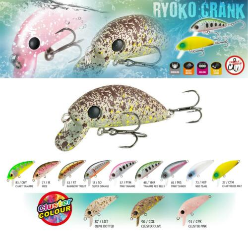 Swimbait Lure Rapture Trout area Ryoko Crank Fishing Spin Bass Pike Feu