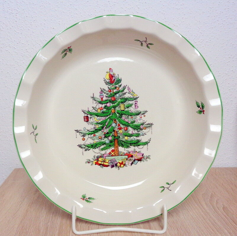 Spode CHRISTMAS TREE 1 Wellenschale